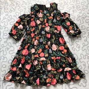 Kate Spade Blossom Cold Shoulder Dress